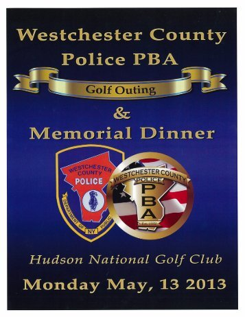 2013 GOLF OUTING JOURNAL – click here - Westchester County ...