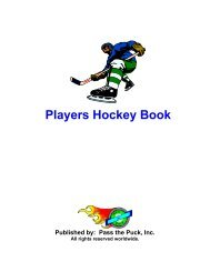 Players Book - Pass the Puck