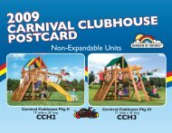 2009 carnival clubhouse postcard - Play Rainbow