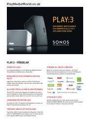 PLAY:3 - Play Media World