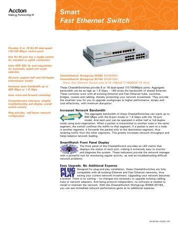 Smart Fast Ethernet Switch