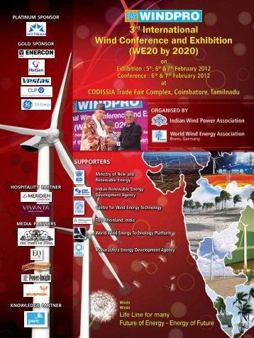 3rd International Conference Brochure - Indian Wind Power ...