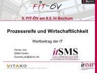 Total Value of IT - FIT-öV