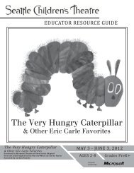 The Very Hungry Caterpillar ERG - Seattle Children's Theatre