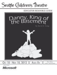 Danny, King of the Basement - Seattle Children's Theatre