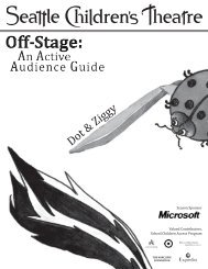 Active Audience Guide: Dot & Ziggy - Seattle Children's Theatre