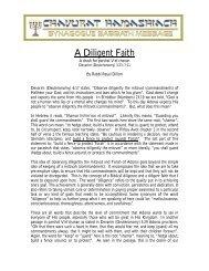 A Diligent Faith