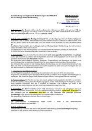 Ausschreibung und ergänzende Bestimmungen des DMS 2013 ...