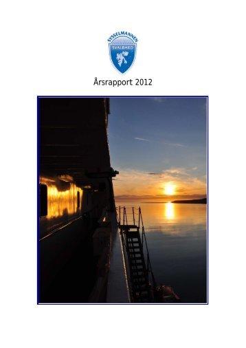 Årsrapport 2012 - Sysselmannen