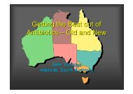 Getting the Best out of Antibiotics – Old and New