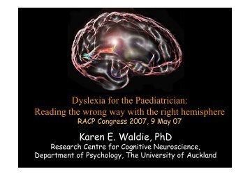 Reading the Wrong Way with the Right Hemisphere