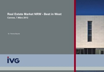 Real Estate Market NRW -  Best in West Cannes, 7 ... - NRW Invest