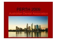 Endodontic Considerations in the Elderly Patient - Tour Hosts Pty ...