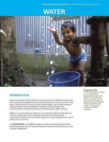 Water - UNICEF Canada
