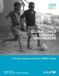 50th report design1 - UNICEF Canada