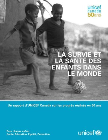 50th report design1 - UNICEF Canada
