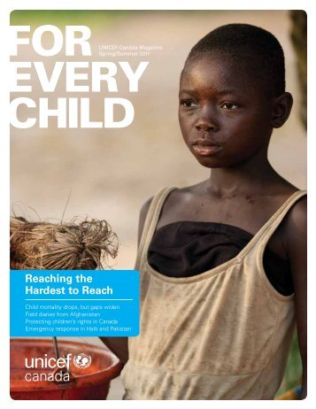 Spring 2011 - UNICEF Canada
