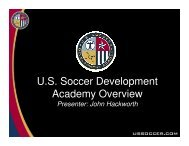 Player - US Youth Soccer