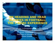on heading and head injuries in football - US Youth Soccer