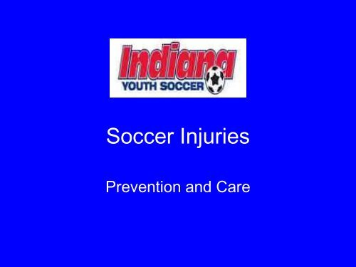 Soccer Injuries - Indiana Soccer