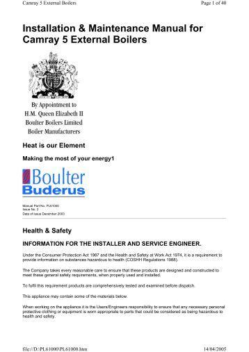 Worcester Bosch: Worcester Bosch Maintenance