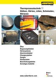 Thermprozesstechnik - Nabertherm GmbH