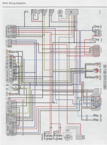 Fine 1992 Xj 600 Wiring Diagram As Well As Yamaha Fzr 600 Wiring Diagram Wiring 101 Eumquscobadownsetwise Assnl