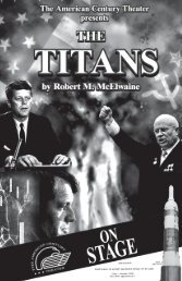 The Titans - The American Century Theater