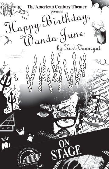 Happy Birthday, Wanda June - The American Century Theater
