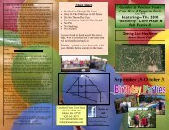 September 25-October 31 - Gaeddert Farms corn maze