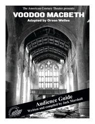 Voodoo Macbeth - The American Century Theater