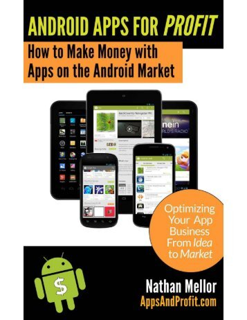 Android Apps For Profit - How to Make Money With Apps on the Android Market