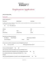 our Employment Application. - Lenox Hill Neighborhood House