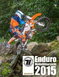 Enduro-Modellübersicht 2015