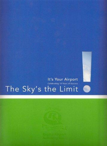 2009 - Regina Airport Authority Annual Report - Regina International ...