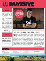 DRUM & BASS THE TREI WAY - Massive Magazine