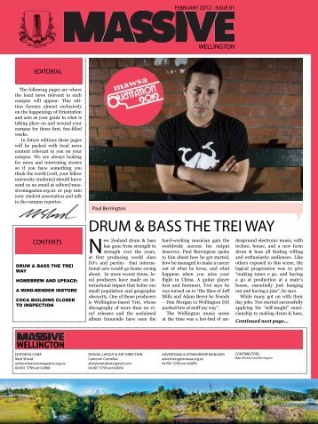 DRUM & BASS THE TREI WAY - Massive Magazine