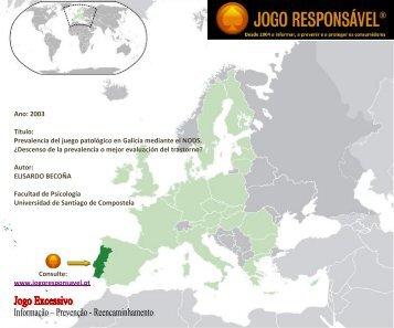 2003 Prevalencia del juego patológico en Galicia ... - Jogo Remoto