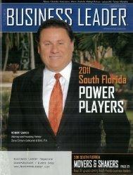 Business Leader Magazine Distribution I Event Copy ... - Zarco Law