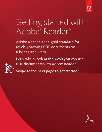 Getting Started with Adobe Reader for iOS (Universal ... - McAllen ISD