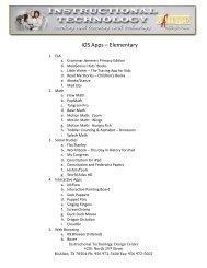 iOS Apps - Elementary Agenda - McAllen ISD