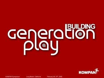 "KOMPAN Symposium, ""Building GENERATION PLAY Long Beach ..."