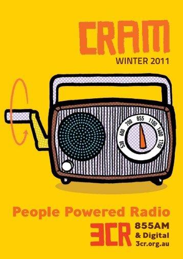 WINTER 2011 - 3CR Community Radio
