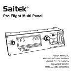 Pro Flight Multi Panel - Saitek