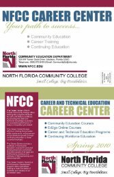 NFCC Community Education Course Schedule Spring 2010 ...