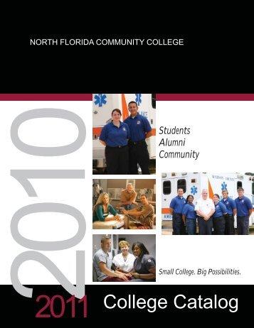 2010-2011 College Catalog - North Florida Community College