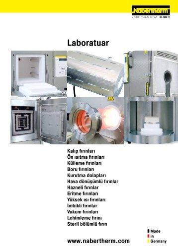 Katalog Laboratuar - Nabertherm