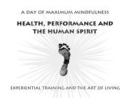One day maximum mindfulness workshop - Exuberant Animal