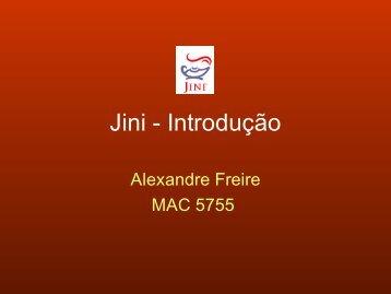 Introdução - Jini