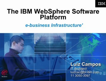 WebSphere - Distributed Systems Research Group